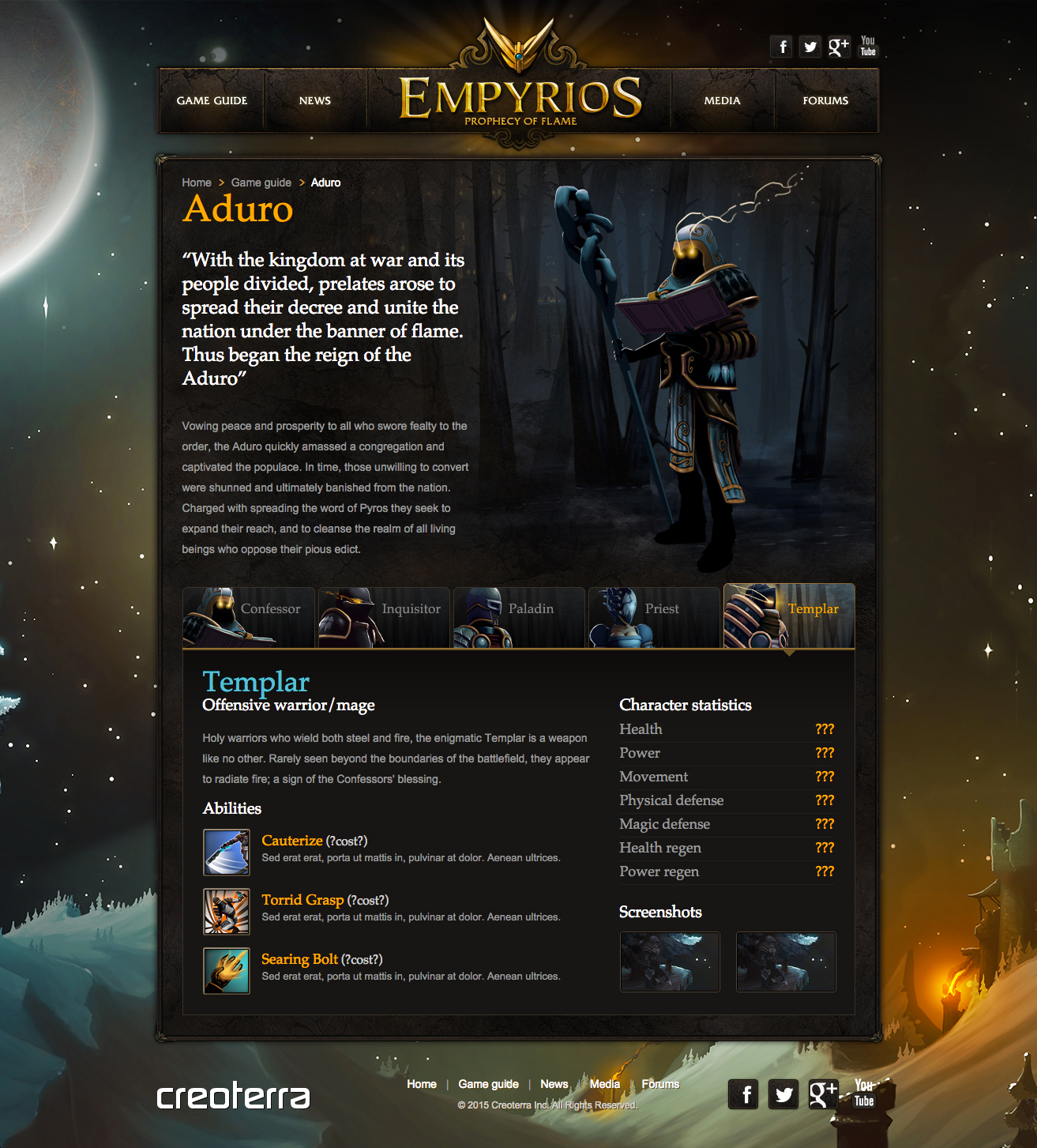 Empyrios Website